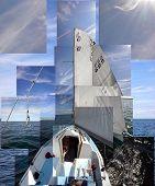 stock photo of sail-boats  - Sail - JPG