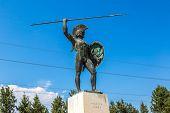 Постер, плакат: Statue Of Leonidas King Of Sparta