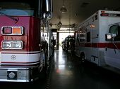 stock photo of burlington  - burlington fire department - JPG