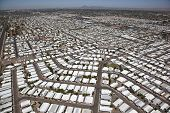 pic of snowbird  - Aerial view of Mobile home park in Mesa - JPG