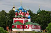stock photo of uglich  - Church build on the place where Dimitry  - JPG
