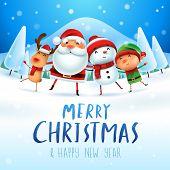 Santa4_friends_txtbelow 01 poster