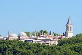 picture of harem  - view of harem in topkapi palace - JPG