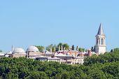 foto of harem  - view of harem in topkapi palace - JPG