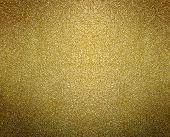 Gold Background. Golden Glitter Or Shimmer Texture poster
