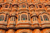 Hawa Mahal, The Palace Of Winds, Jaipur, Rajasthan, India. Hdr Image