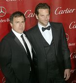 PALM SPRINGS, CA - JAN 5: David O. Russell and Bradley Cooper arrive at the 2013 Palm Springs Intern