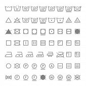 picture of laundry  - Laundry symbols - JPG