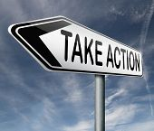 take action time act now