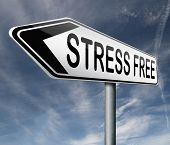 stress free work zone office job or life by yoga and relaxation vacation stop agitation no worries