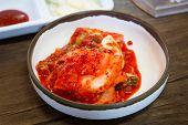 pic of kimchi  - Kimchi salad of korean food - JPG