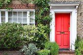 foto of victorian houses  - London United Kingdom  - JPG