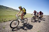 Adventure Mountain Bike Marathon In Desert