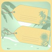 Holiday Luggage Tags