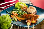 stock photo of ayam  - Organic food of Bali - JPG