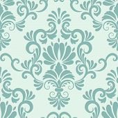 pic of damask  - Vector damask seamless pattern element - JPG