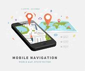 picture of gps  - World Map - JPG