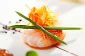 picture of canapes  - Seafood Canapes  - JPG