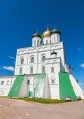 picture of trinity  - Classical Russian ancient religious architecture example - JPG