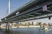 Постер, плакат: Halic Metro Bridge Istanbul Turkey