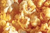 picture of popcorn  - Sweet popcorn as background in closeup view - JPG