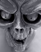 picture of hayride  - Gargoyle close up - JPG