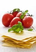image of lasagna  - ingredients for lasagna - JPG