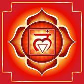 picture of chakra  - Muladhara - JPG