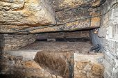 pic of catacombs  - beautiful old Catacombs Odessa Ukraine  - JPG