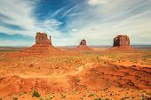 picture of butt  - The famous Buttes of Monument Valley - JPG