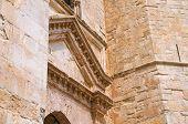 stock photo of pilaster  - Castel del Monte of Andria - JPG