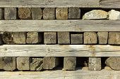 pic of pallet  - old gray pallet timber as a background - JPG