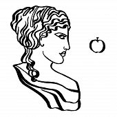 picture of goddess  - The ancient Greek goddess of love - JPG