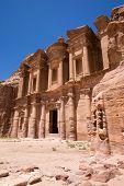foto of petra jordan  - Ancient temple in Petra - JPG