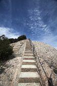 foto of stairway  - Stairway to heaven  - JPG