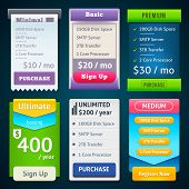 picture of tariff  - Pricing Table Template - JPG