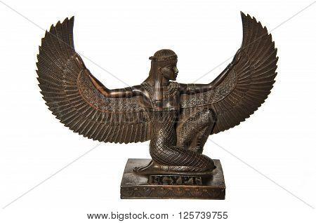 Wooden Egyptian Goddess