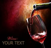 image of red wine  - Wine - JPG