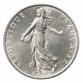 Постер, плакат: French Silver Coin