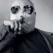 stock photo of hustler  - The big Boss Head Honcho Top Dog - JPG