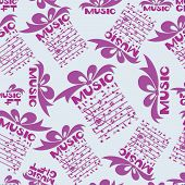 Musical Gift. Notes. Design For The Cover Of The Concert Program Of Classical Music, Music Festival, poster