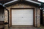Garage Pvc Door, White Plastic Garage Door poster