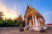 Temple (thai Language:wat Chan West) Is A Buddhist Temple (thai Language:wat) It Is A Major Tourist  poster