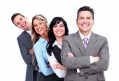 stock photo of business success  - Group of business people - JPG