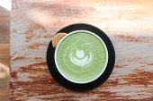 Matcha Green Tea, Green Tea Or Matcha Green Tea Or Matcha Latte poster
