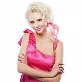stock photo of bimbo  - Portrait of model in doll - JPG