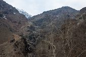 stock photo of tehran  - Alborz mountains in central Iran - JPG