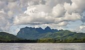 pic of ou  - Countryside around Nam Ou river in Laos - JPG