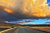 picture of pampa  - Storm over the Pampas - JPG
