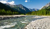 Sumak River - Sayan Mountains - Russia
